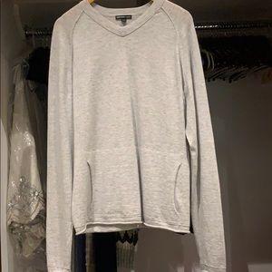 Men's James Perse gray sweater